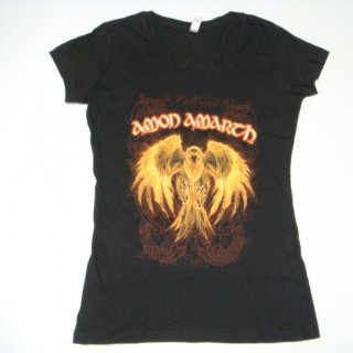 AMON AMARTH Buring Eagle, レディースTシャツ