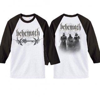 BEHEMOTH Band Logo, ラグラン七分袖シャツ