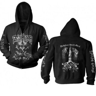 BELPHEGOR Conjuring - Diabolical Death Metal, Zip-Upパーカー