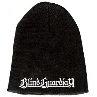 BLIND GUARDIAN White Logo 9in, ニットキャップ