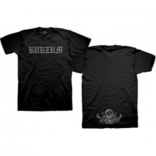 BURZUM Logo, Tシャツ