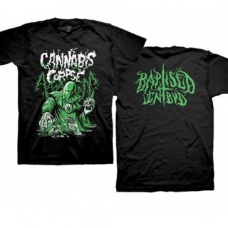 CANNABIS CORPSE Baptized in Bud, Tシャツ