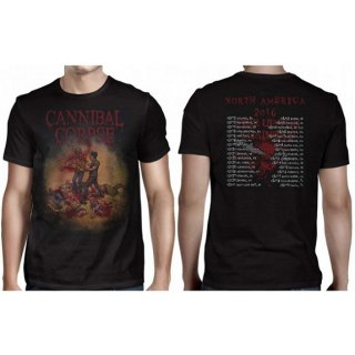 CANNIBAL CORPSE Chainsaw 2016, Tシャツ