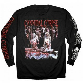 CANNIBAL CORPSE Butchered At Birth Blk, ロングTシャツ