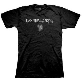 CANNIBAL CORPSE Logo Fetus, レディースTシャツ