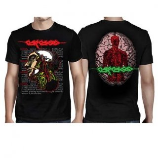 CARCASS Anatomical Head, Tシャツ