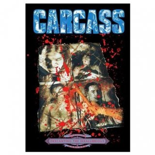 CARCASS Necroticism, 布製ポスター