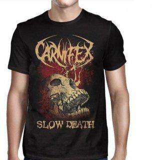 CARNIFEX Slow Death Skull, Tシャツ