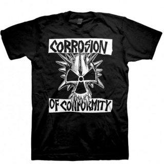 CORROSION OF CONFORMITY Classic Skull Logo, Tシャツ