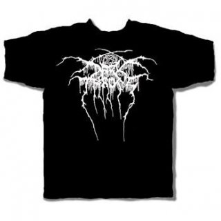 DARK THRONE Logo, Tシャツ