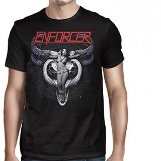 ENFORCER Cow Girl Skull, Tシャツ