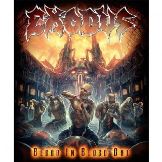 EXODUS Blood In Blood Out, 布製ポスター
