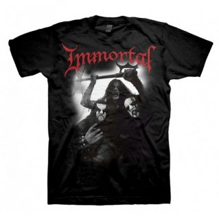 IMMORTAL Band Photo, Tシャツ