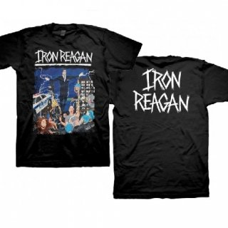 IRON REAGAN Floating Reagan Design, Tシャツ