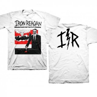 IRON REAGAN Finger On Button - Lightning, Tシャツ