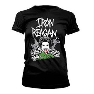IRON REAGAN Nancy Reagan, レディースTシャツ