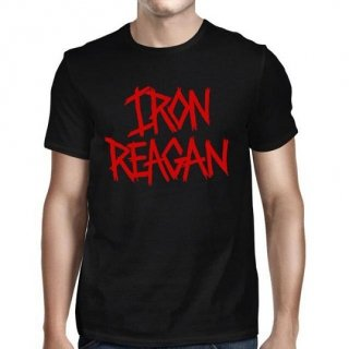 IRON REAGAN Red Logo Capital, Tシャツ