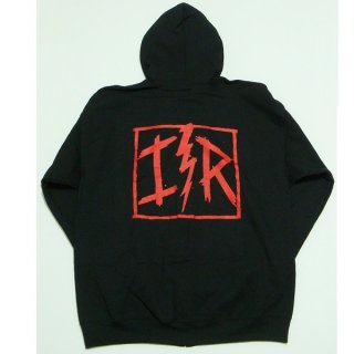 IRON REAGAN Red Logo, Zip-Upパーカー