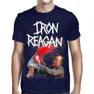 IRON REAGAN Bush Your Kid's an Asshole, Tシャツ