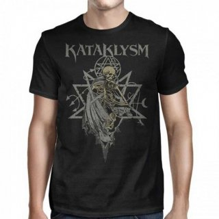 KATAKLYSM Skeleton Tribal Pentagram, Tシャツ