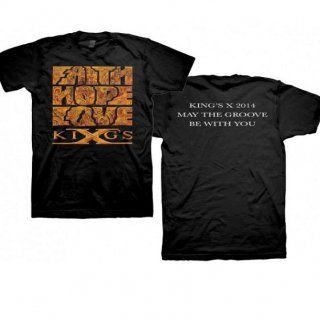 KINGS X Faith Hope Love, Tシャツ