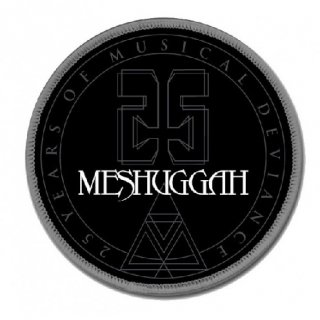 MESHUGGAH 25TH Anniversary Seal, パッチ