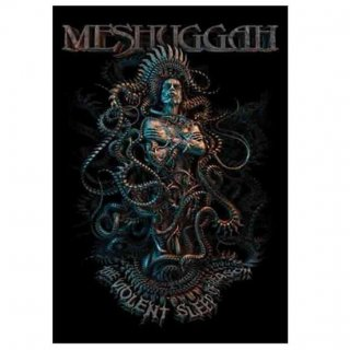 MESHUGGAH The Violent Sleep, 布製ポスター