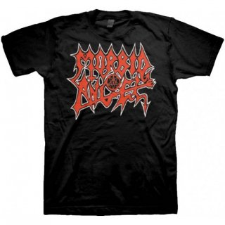 MORBID ANGEL Red Logo, Tシャツ