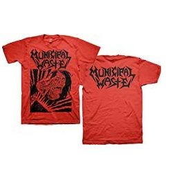 MUNICIPAL WASTE Skelbot, Tシャツ