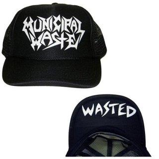 MUNICIPAL WASTE Logo Wasted, キャップ