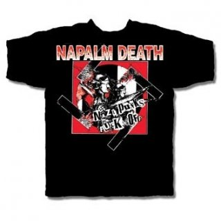 NAPALM DEATH Nazi Punks Fuck Off 2, Tシャツ