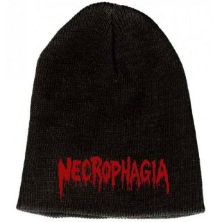 NECROPHAGIA Logo, ニットキャップ