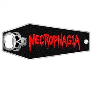 NECROPHAGIA Coffin Metal, ボトルオープナー