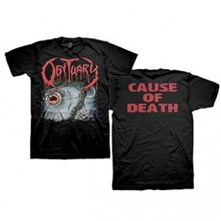 OBITUARY Cause of Death, Tシャツ