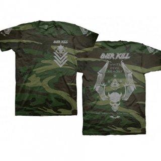 OVERKILL White Devil Spec Ops Camo, Tシャツ