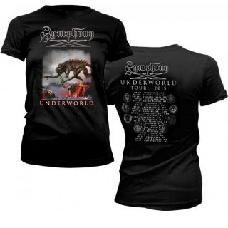 SYMPHONY X Monster Back Dates, レディースTシャツ