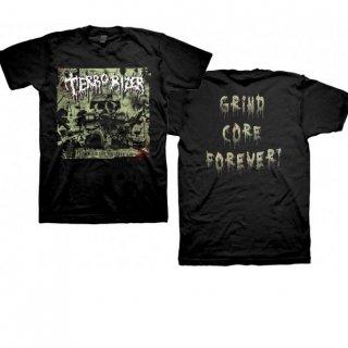 TERRORIZER Darker Days Grind Core Forever, Tシャツ