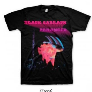 BLACK SABBATH Paranoid Motion Trails, Tシャツ