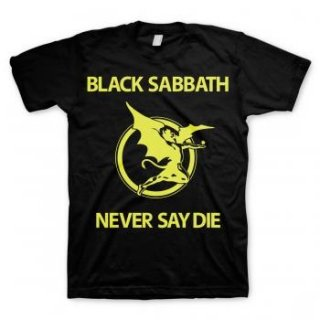 BLACK SABBATH Never Say Die 2, Tシャツ