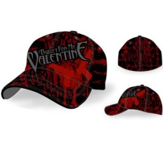 BULLET FOR MY VALENTINE  Pistol Spray 6 Panel, キャップ
