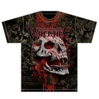 BULLET FOR MY VALENTINE Bloodskull, Tシャツ