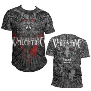 BULLET FOR MY VALENTINE Demon AO, Tシャツ