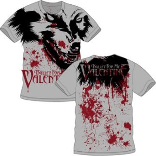BULLET FOR MY VALENTINE Werewolf AO, Tシャツ