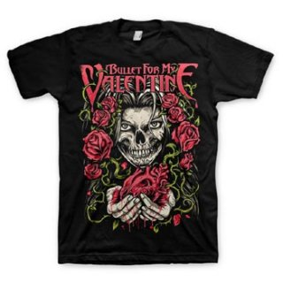 BULLET FOR MY VALENTINE Bleeding Heart, Tシャツ