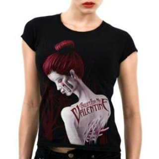 BULLET FOR MY VALENTINE Dead Red, レディースTシャツ