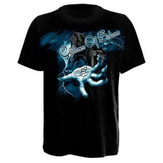 CHILDREN OF BODOM Reaper Lightning Hand, Tシャツ