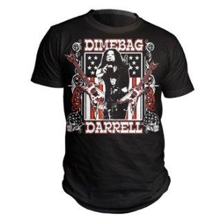 DIMEBAG DARRELL Guitar Flag, Tシャツ