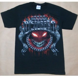 DISTURBED Chrome Smiley, Tシャツ