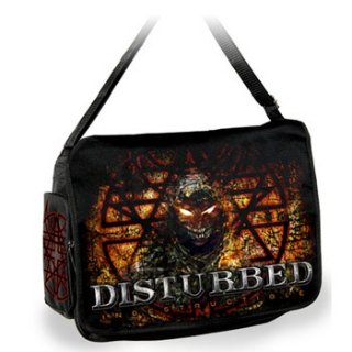 DISTURBED Indestructible Chain, メッセンジャーバッグ