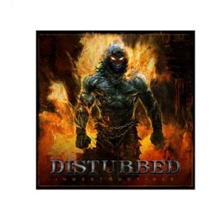 DISTURBED Indestructible Cover, ステッカー